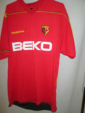 Watford 2008-2009 Away Player Issue no 7 Football Shirt Size Large /11338