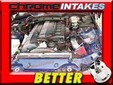 Cf Schwarz Rot 98-00 BMW Z3 Z Coupe/ Roadster 3.2L I6 E36 Lufteinlass