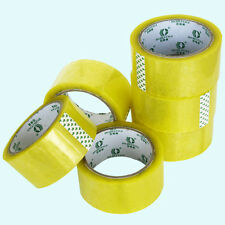 New listing Packaging Tape -12 x Clear 48mm x 50m, 50 micron thickness