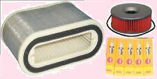 Kit De Servicio-Tapones De Aire Y Filtro De Aceite para caber Yamaha V Max Vmax V-max 1985-95