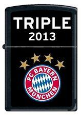 Zippo Briquet FC Bayern de Munich Triple 2013 noir 2003960, Zippo de football