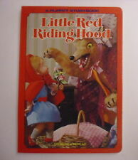 Little Red Riding Hood, Puppet Storybook, Grosset & Dunlap, Shiba, 1986