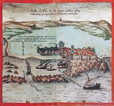 Reproduction plan ancien d'Asilah 1572