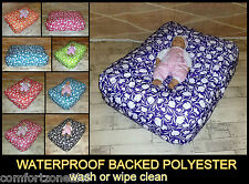Tulip Waterproof Fabric Baby Bean Bag Feeding Chair Relaxer Beanbag Pod Pillow