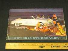 1948 Studebaker Cars Folder Sales Brochure