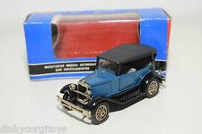 RUSSIAN CCCP USSR GAZ-A OLDTIMER CAR TA3-A BLUE BLACK MINT BOXED SELTEN RARO