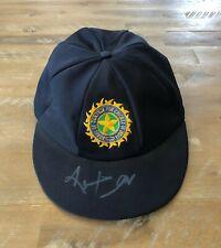 Kapil Dev MATCH WORN & SIGNED Indian National Team Test Cricket Baggy Cap c1990s