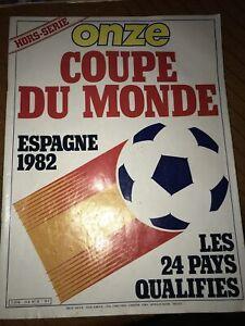 ONZE Magazine Football Foot Hors Série 12 Coupe Du Monde Espagne 82