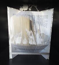 Elephant folded book art gift