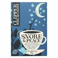 Clipper Snore and Peace 20 X 30g Tea Bags