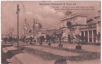 ITALY 1911 ITALY INTERNATIONAL EXHIBITION OF TURIN POSTCARD COVER TO FIRENZE