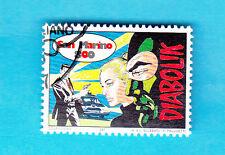 SAN MARINO FRANCOBOLLO COMICS FUMETTI ITALIANI USATO Diabolik 1997 L. Giussan