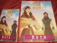 Animated Stories from the Bible Ruth VHS NEW with Activity Book