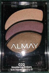 Almay Smoky Eye Trio 020 Smoldering Embers Eyeshadow - SmolderSmokeSizzle + Gift