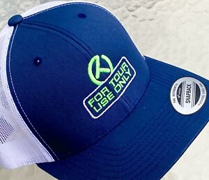 SCOTTY CAMERON 2021 Gallery CIRCLE T FTUO Snapback Mesh Hat  *NEW Navy/Lime*