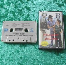MC Yoko Ono - It's alright (Japan) - Musikkassette Cassette