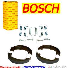 BOSCH Bremsbacken Satz Handbremse Feststellbremse+Zubehörsatz für hinten BMW VW