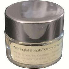 Cindy Crawford Meaningful Beauty Wrinkle Smoothing Capsules 7 Count New / Sealed