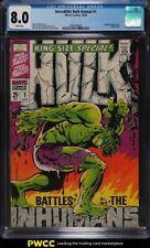1968 Marvel Comics Incredible Hulk Annual #1 CGC 8 NM-MT