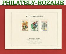 CZECHOSLOVAKIA FIRST DAY ISSUE SHEET 1964 Mi 1488/1493 OLYMPIC GAMES TOKYO CS295