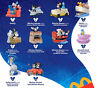 2020 McDONALD'S DISNEY WORLD MICKEY & MINNIE RUNAWAY RAILWAY HAPPY MEAL TOYS!