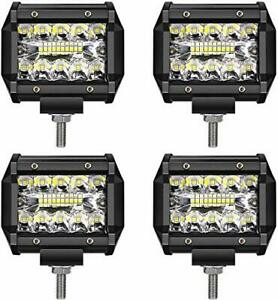 LED Light Bar TURBO SII LED Pods 4 Inch 60W Off Road (4Inch Led Pod Lights)