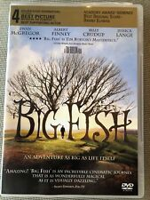Big Fish (Dvd, 2004) Ewan McGregor, Jessica Lange - Brand New & Sealed!