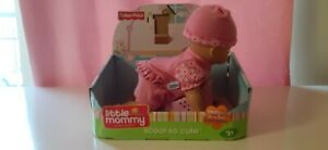 FISHER PRICE 2008 LITTLE MOMMY REAL LOVING BABY SCOOT SO CUTE DOLL.PINK