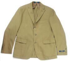 "Ralph Lauren Vert Olive Hommes Harvard Sport Manteau Blazer Veste 42 R """