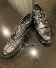 Emporio Armani Black Mens Shoes Size 8