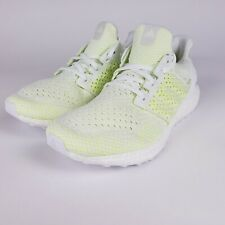 New Adidas Mens UltraBoost Clima Solar Yellow white AQ0481 Size 9