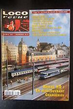 MODELISME FERROVIAIRE TRAIN MAGAZINE LOCO REVUE N° 613 de 1998