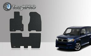 ToughPRO Floor Mats Black For Honda Element SC All Weather Custom Fit 2007-2011