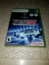 Pro Evolution Soccer 2014 (Microsoft Xbox 360, 2013) X360 Brand New Sealed