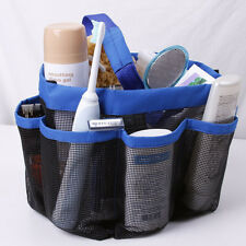 Bathroom Bathtub Shower Organizer Bag Rack Caddy Hanging Tote Travel Basket Hot