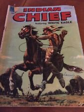 Indian Chief Featuring White Eagle Dell Comics No 17