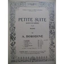 BORODINE Alexandre Petite Suite, Au couvent Piano 1933  Partition Sheet Music Sp