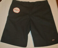 "Men's Dickies Black Relaxed Fit 13"" Inseam Flex Work Shorts 30, 32, 34,40, 42,44"