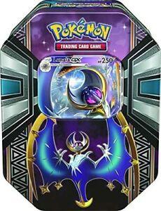 Pokémon TCG Sun & Moon Legends of Alola Tin with Lunala GX NEW 4 BOOSTERS+GIFTS!