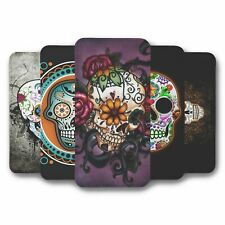 For Samsung Galaxy S9 Flip Case Cover Skull Collection 1