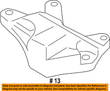 FORD OEM Engine Motor Transmission-Support BV6Z7M125B