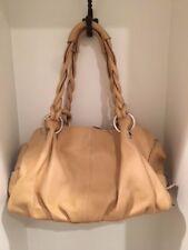 EUC Vera Pelle Genuine Leather Hobo Bag, Made in Italy, Camel Tan