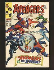 Avengers # 53 - X-Men crossover Fine Cond.