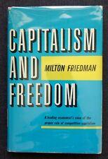 Capitalism and Freedom Milton Friedman First Edition / First Printing w/ DJ 1962