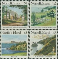 Norfolk Island 1987 SG417-420 Scenes MNH