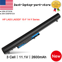 REPLACEMENT LA03 LA03DF 776622-001 775825-221 BATTERY FOR HP 14-Y HP 15-F 2.6AH