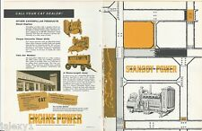 1958 CATERPILLAR Standby POWER Diesel Engine Generator Equipment Vintage Catalog