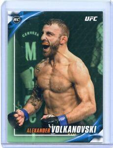 2019 Topps UFC Knockout ALEXANDER VOLKANOVSKI RC Rookie #87 Green Parallel /149