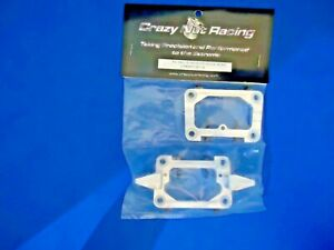 CRAZY NUT RACING FG ALLOY OFFROAD BULK HEAD NEW IN PACKAGE