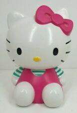 2011 Sanrio Hello Kitty money bank 18 cm tall hard plastic piggy bank